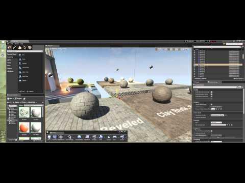 Уроки Unreal Engine 4 - Toolbar (Часть 2)