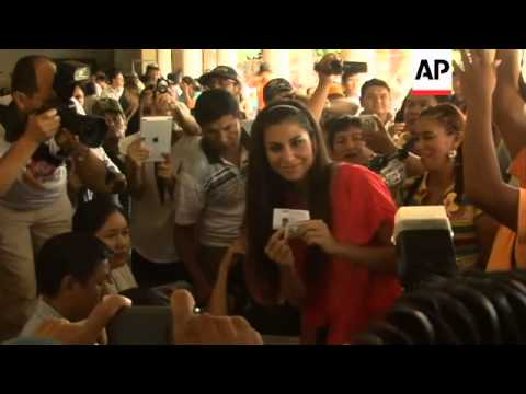 Model and former Miss Bolivia, Jessica Jordan, running for governorship