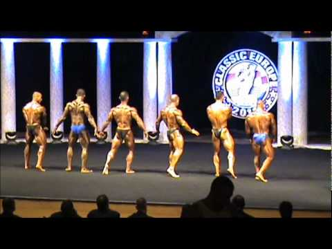 Final & posedown bodybuilding up to 80kg at Arnold Classic Europe 2011
