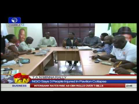 News@10: Lagos Govt. Says Collapsed Synagogue Building Not Certified 14/09/14 Pt 1