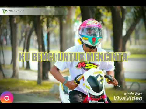 Story WA Bikin Nangis! Background Anak Racing (Lirik Lagu Naif-Benci Untuk Mencintai)