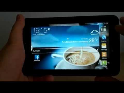 Samsung Galaxy Tab 3 lite 3G (SM-T111) - Recensione in italiano