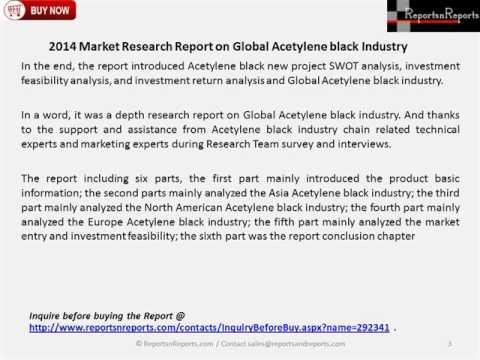 2014 Market Research Report on Global Acetylene black Industry
