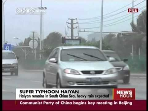 Haiyan remains in South China Sea, heavy rain expected