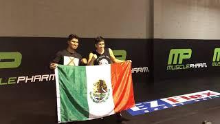 Heavy Lifter Big Boy trains alongside boxing Champions Leo Santa Cruz & Mikey Garcia