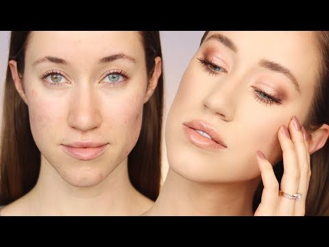 AFFORDABLE SOFT VALENTINE'S DAY MAKEUP TUTORIAL