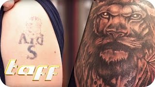 Verpfuschte Tattoos: Cover Up | taff | ProSieben
