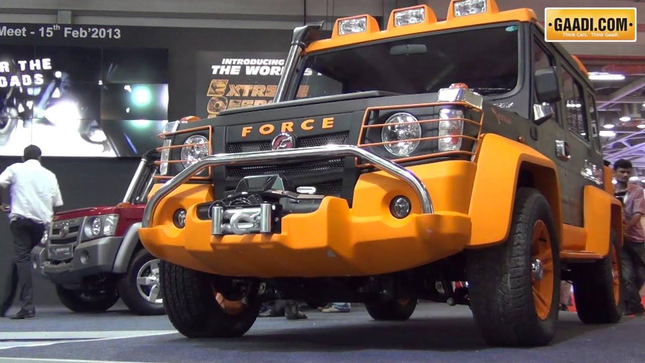 Force Gurkha 2013 India Launch : Turbo 29 - YouTube