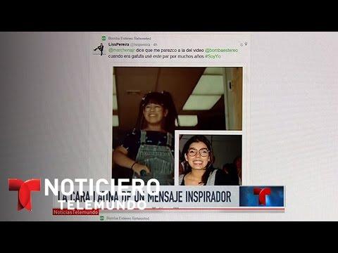 La cara latina de una niña en un mensaje inspirador | Noticiero | Noticias Telemundo