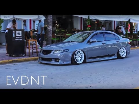 How to Stunt on South Beach.. Bagged CL7 Acura TSX style