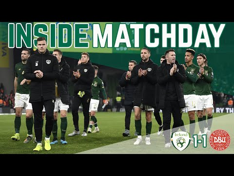 INSIDE MATCHDAY | IRELAND VS DENMARK