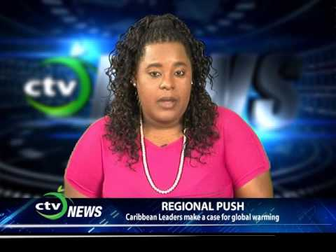 CTV NEWS - Caribbean Leaders make a Case for Global Warming