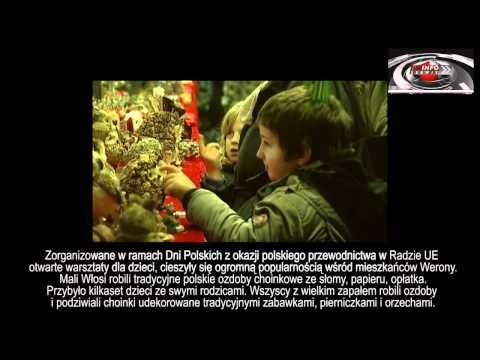 2011 - TVP - WERONA - WARSZTATY DLA DZIECI  Z OKAZJI DNI POLSKICH - Informacje Z 5-6/12/2011