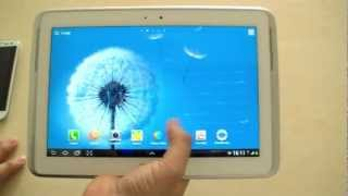 Review of the Samsung Galaxy Note 10.1