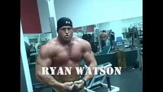 Super Heavyweight Bodybuilder Ryan Watson Off Season Lower Body Training
