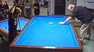 Mike Massey & Venom, Artistic Billiard (Carom table)