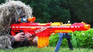 Nerf War: Snipers Vs Thieves