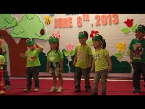 Little Green Frog Dance Grace Kids Graduation 2013 video