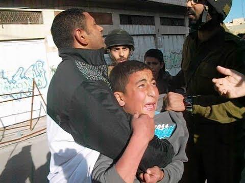 תיעוד וידאו של מעצר ילדים בחברון Arrest of Palestinian children in Hebron