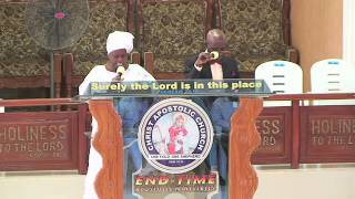 CAC (END-TIME) APOSTOLIC MINISTRIES - 1ST SUNDAY SERVICE - 2016