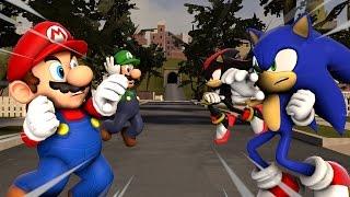 [SFM]Sonic Rivals