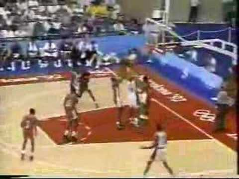 USA Dream Team v Angola 1992 Olympics Video