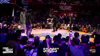 Rubix Vs Larry ( les Twins ) | Last 8 | Fusion Concept 10th Anniversary
