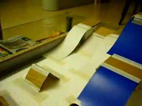 homemade fingerboard skatepark