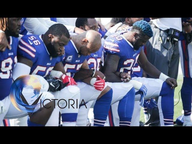 Trump NFL row: Defiance after US president urges boycott - BBC News