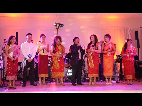 CONCERT Lao artists from USA-CANADA-FRANCE Goussainville 01-11-14