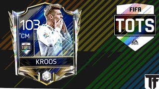 TOTS 93 Rated Toni Kroos Claiming and Gameplay | FIFA Mobile 18