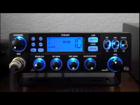 USA Heard From Scotland (Irvine, Ayrshire) On TTI TCB-881 CB Radio #1 (29sep2012)
