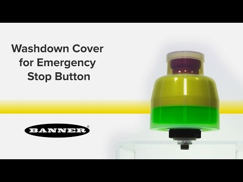 Washdown Cover for Emergency Stop Buttons