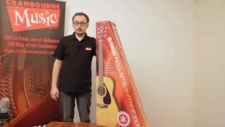 Yamaha F310 Guitar Pack - Unboxing