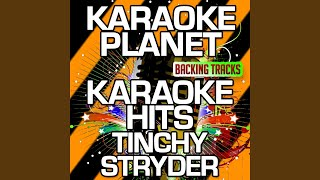 Off The Record Karaoke Version Originally Performed By Tinchy Stryder