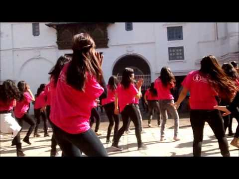 Flash mob on World Cancer Day at Basantapur, by Medical Interns and students on KIST Hospital