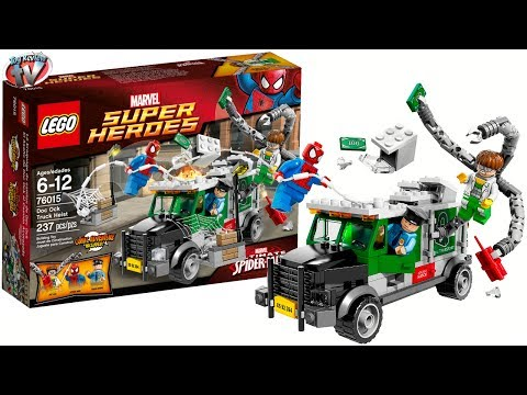 LEGO Ultimate Spider-Man: Doc Ock Truck Heist 76015 Toy Review