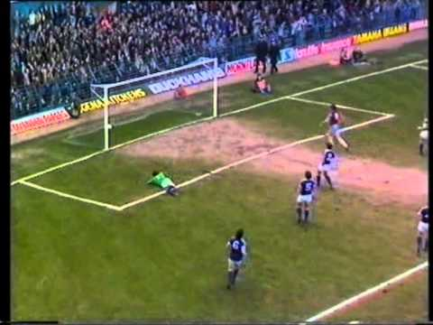The contenders for the 1980-81 Match of the Day goal of the season competition, won by Aston Villa's Tony Morley for his solo goal against Everton. Other contenders are Ian Edwards, Terry...