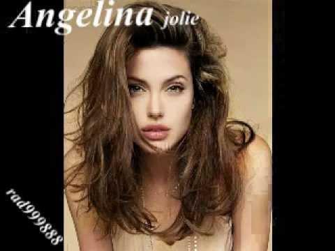 انجلينا جولي وكاظم الساهر وشخص ثاني