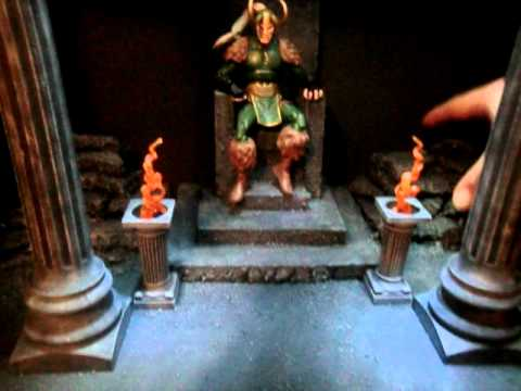 Custom Throne Room Diorama