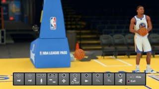 NBA 2K19 Stephen Curry Half Court