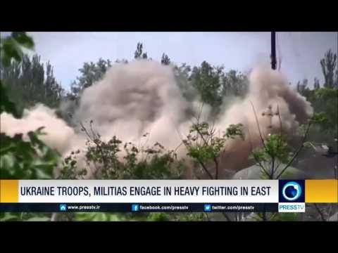Ukraine Troops, Militias Engage In Heavy Fighting In East