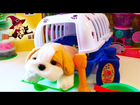 Juguete de Transportin para Perros | Perritos de peluche