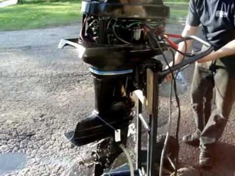 40 hp mercury 1980 shortshaft electric start youtube