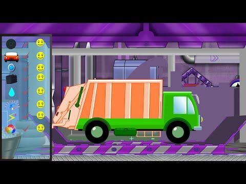 Garbage Truck | Garbage Truck Repair | Car Garage | Car Repair