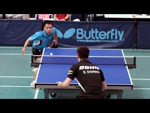 2012 L.A. Open Table Tennis Tournament(QF): Dimitrij Ovtcharov vs. Liang Yonghui