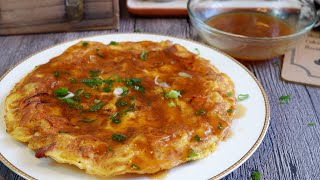 Quick & Easy Egg Foo Young w/ Gravy 芙蓉蛋 Chinese Omelette Recipe
