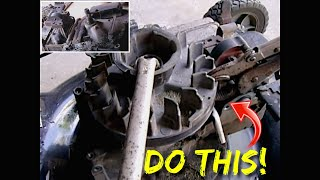 Easy Method To Remove A Lawn Mower Flywheel w/NO Special Tools