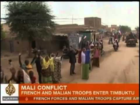 Tropas da França e de Mali tomam controle da cidade de Timbuktu - Repórter Brasil (noite)