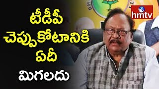 BJP Leader Krishnam Raju Comments on TDP No-Confidence Test  | hmtv
